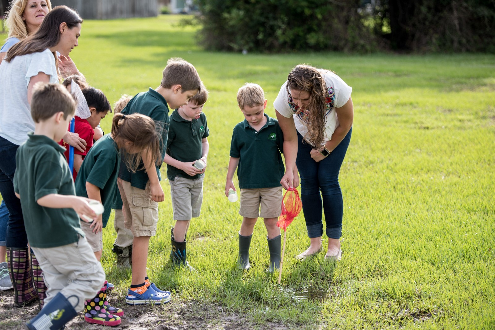 Parish School Nature Learning Class