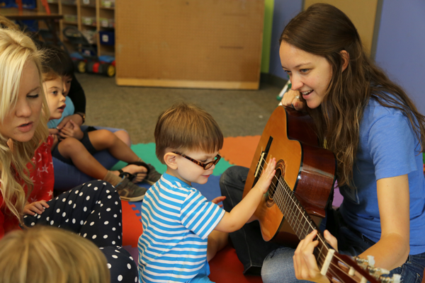 music therapy at the carruth center