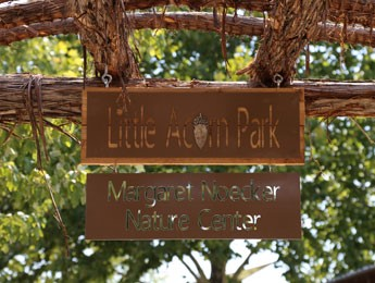 Little Acorn Park Entrance