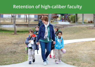 Retention of high-caliber faculty