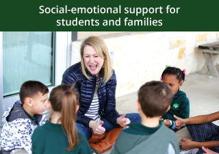 Social-emotional support for students and families