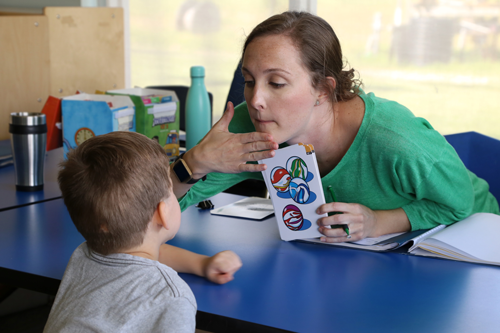 carruth center speech therapy