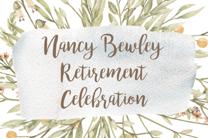 Nancy Bewley Retirement Celebration