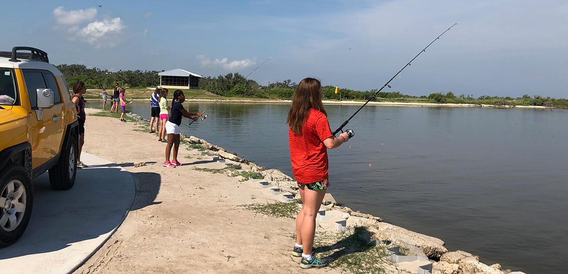 Camp Connect Fishing